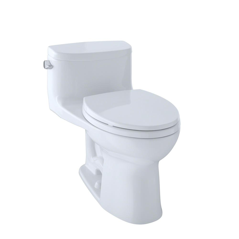 TOTO Supreme® II One-Piece High-Efficiency Toilet, 1.28GPF ...